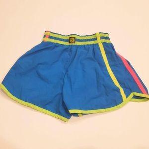 Vtg 80s Ocean Pacific OP Colorblock Nylon Shorts